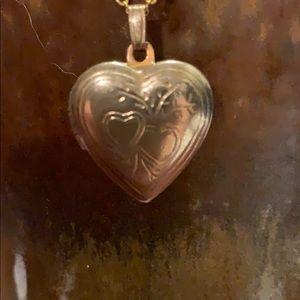 Vintage heart locket